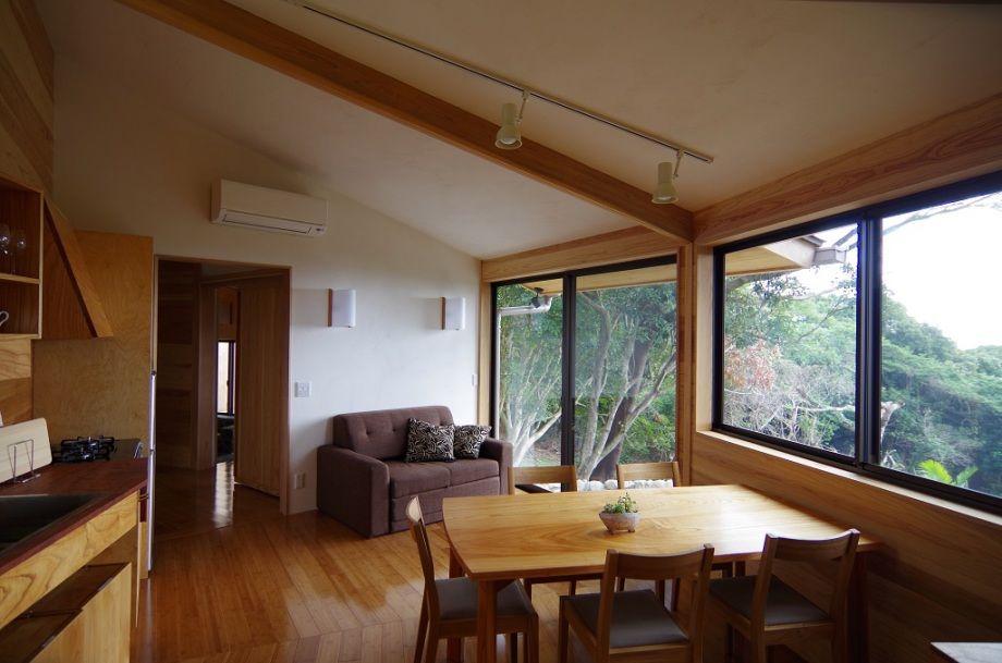 まるで自分の別荘にいるような充実の設備とプライベート空間