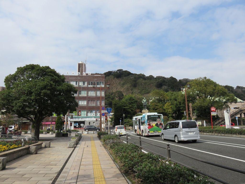 鹿児島の人気観光スポット、「西郷隆盛銅像」の隣にあるカフェ