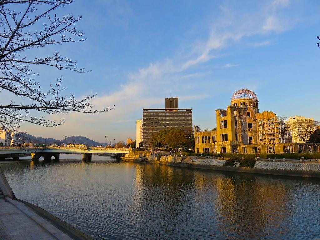 平和記念公園まで徒歩2分、原爆ドームまで徒歩5分!
