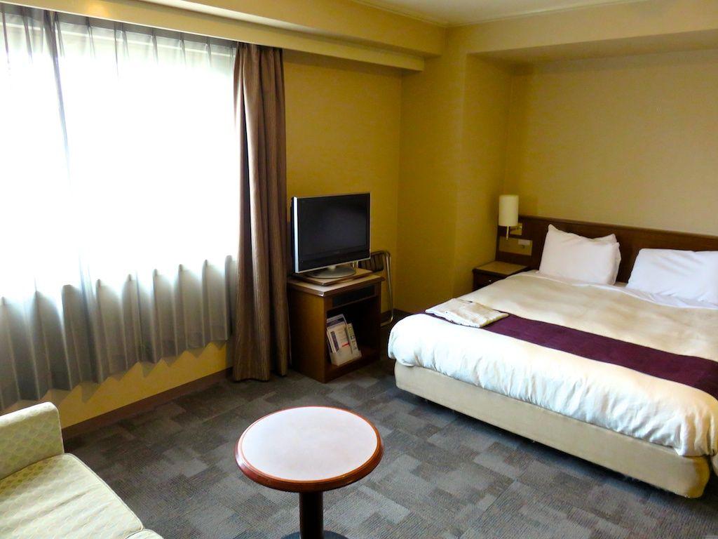 眺望の良い部屋から広めの部屋まで、部屋のタイプは色々