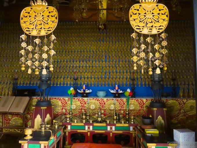 建物も、阿弥陀仏も、眺望も、とにかく美しい摩尼殿