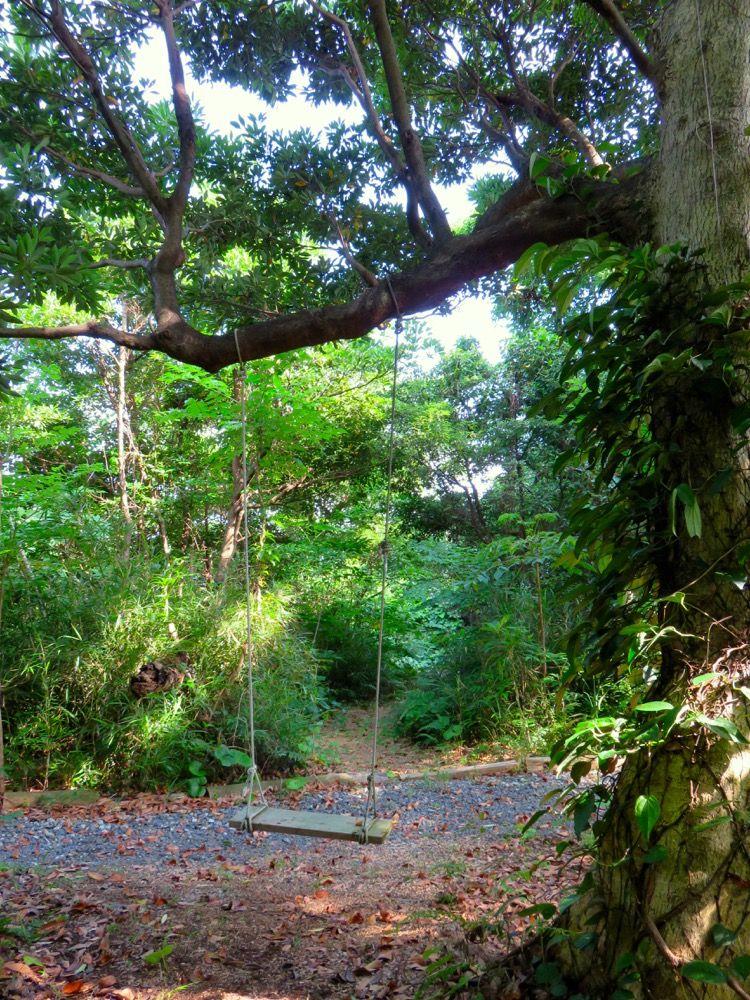 森の中のコテージでプライベート空間