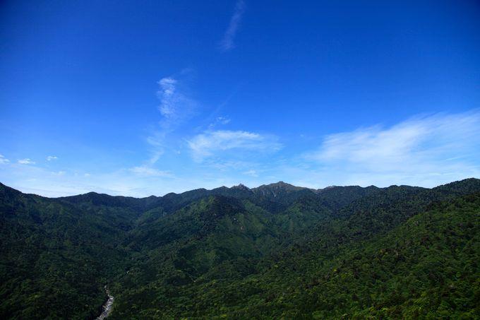1日目、午前中着の場合は人気の白谷雲水峡へ