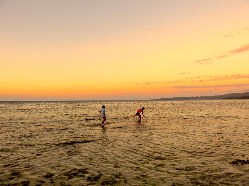 目の前に広がるプライベートビーチ