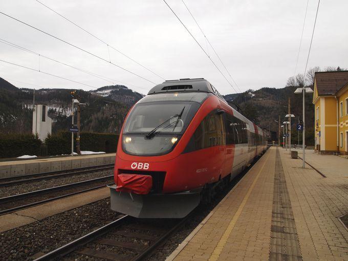 ウィーンから80キロの近い場所にあるセンメリング鉄道。