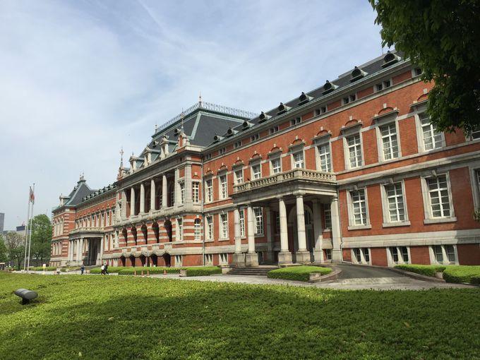 幻の東京の姿を残す・法務省旧本館