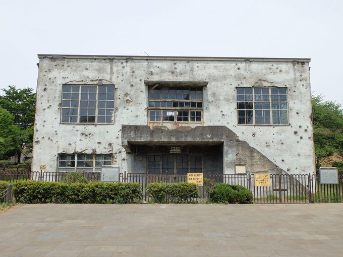 その正体は「旧日立航空機立川工場変電所」