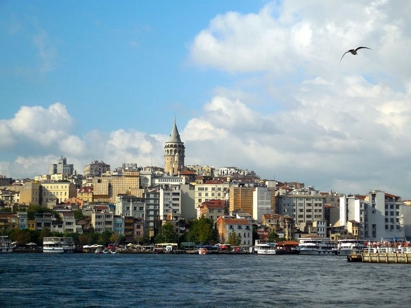 イスタンブールの眺めを楽しむならココ!ガラタ塔とガラタ橋