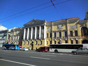 まるで建物博物館!サンクトペテルブルグのネフスキー大通り