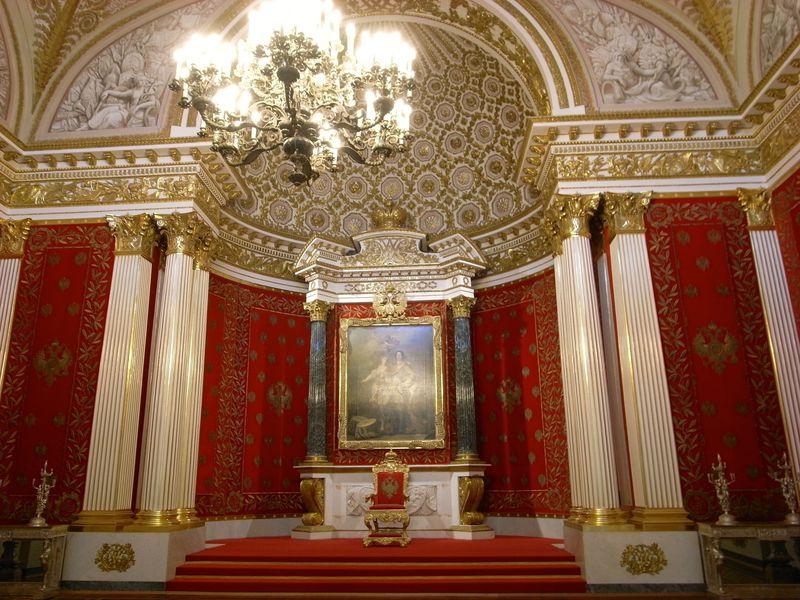 名画だけじゃない!華麗な大宮殿 ロシアのエルミタージュを楽しもう!