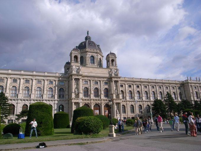 オーストリア皇帝の美術コレクションを展示する美術館