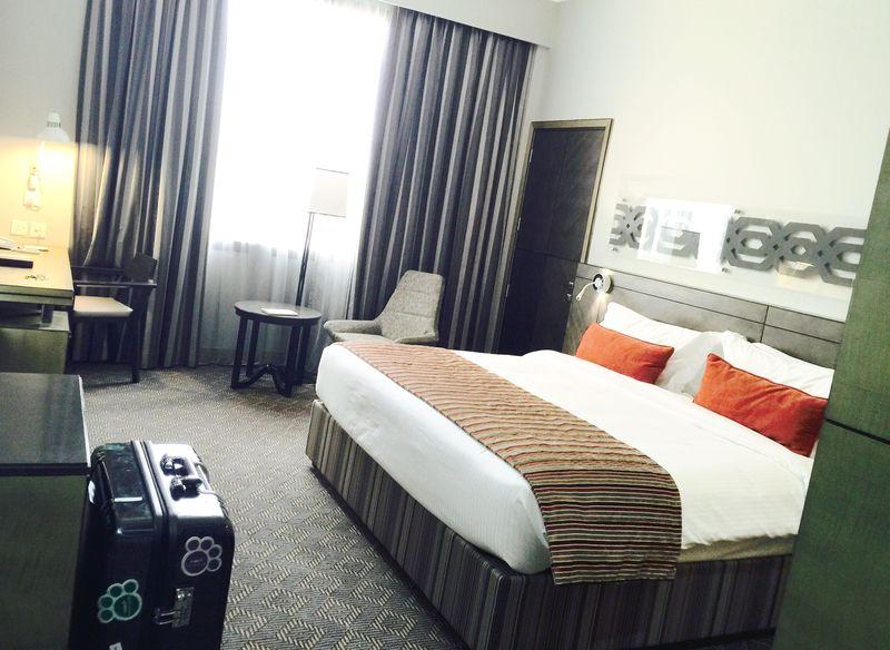 砂漠のオアシス!UAEアルアインのホテル「アイラバワディホテル」