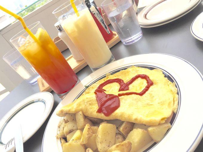 ハワイアンレストランの決定版『エッグスンシングス』