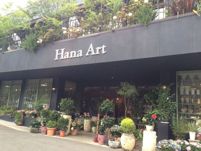 あふれる花に埋もれる幸せ「Hana Art」