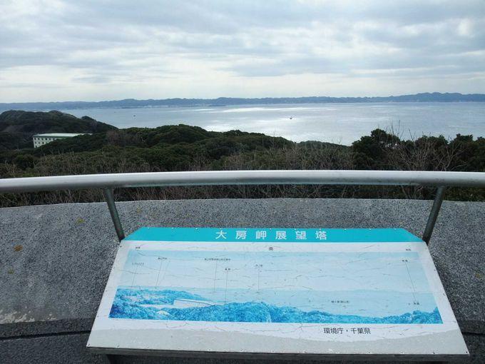 大房岬(たいぶさみさき)自然公園から海を望む