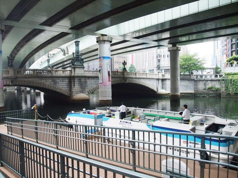 銀ブラ&日本橋クルージング!「中央通り」に沿って、お手軽コースの東京観光。
