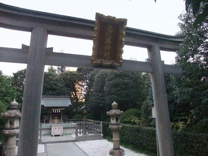 ガーデンプレイスの「恵比寿神社」
