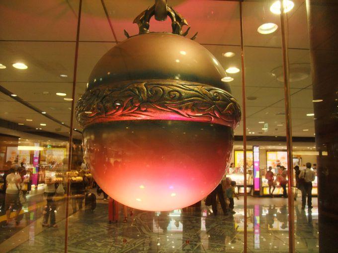 東京駅の「銀の鈴」