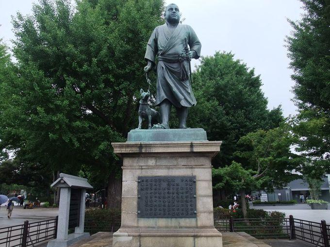 上野の「西郷隆盛像」