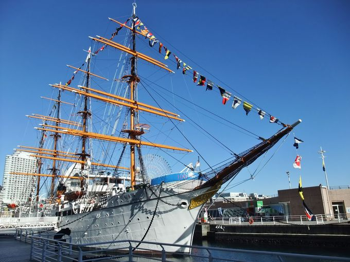 9.帆船日本丸・横浜みなと博物館(神奈川県)