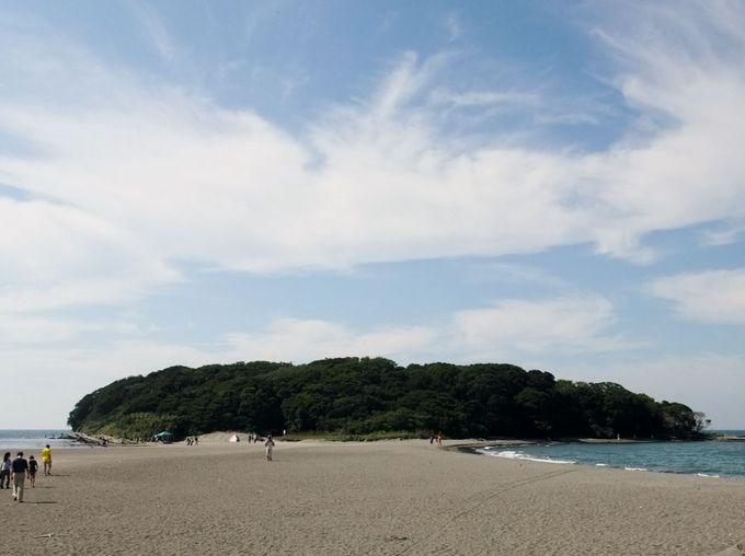 歩いて渡れる無人島「沖ノ島」でアドベンチャー!
