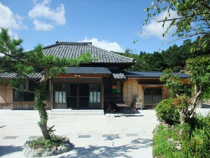 古民家を改築した棚田カフェ「ごんべい」