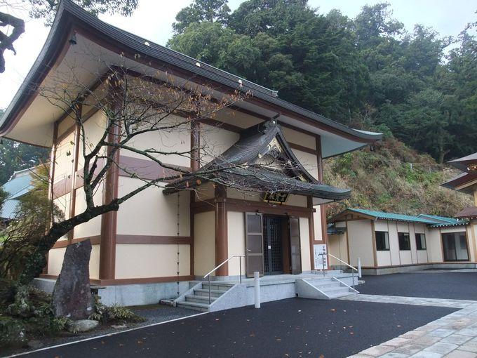 日蓮聖人ゆかりの品がある宝物館