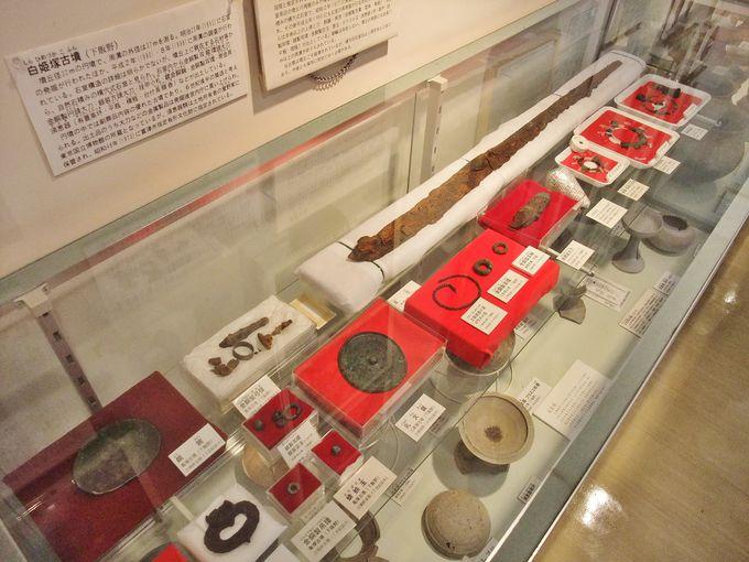 悠久の歴史を体感。「富津ふるさと展示室」