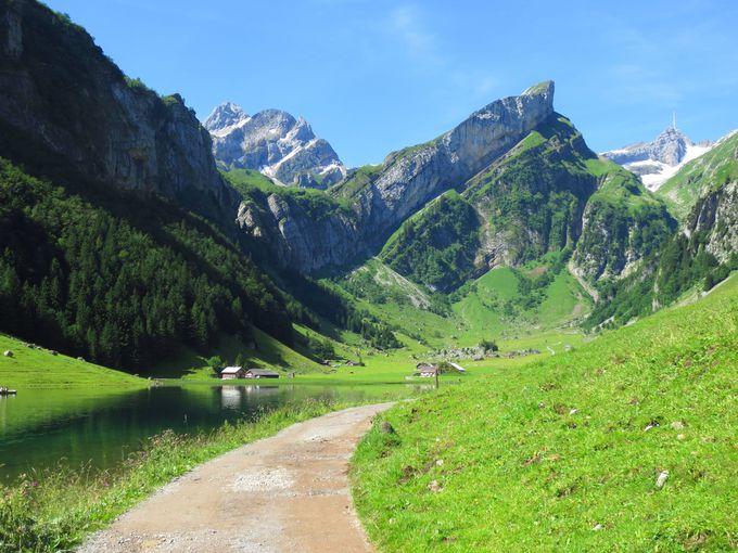 ゼーアルプ湖(Seealpsee)へ、ハイキングに出かけよう。