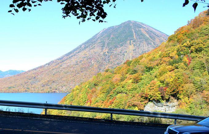 「中禅寺湖スカイライン」は絶景展望台「半月山」へ続く道!