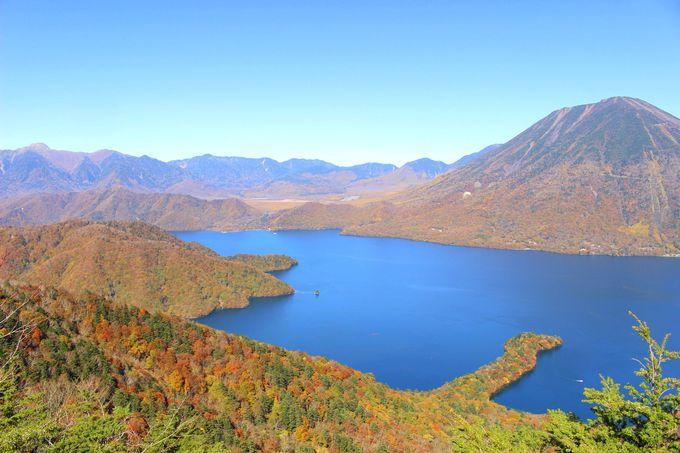 中禅寺湖を上から眺める!八丁出島の美しさ