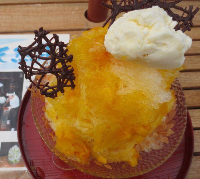 日光・松月氷室の天然氷のかき氷!名パティシエが作る絶品ソースのかき氷は「スイーツ タカヨシ」!