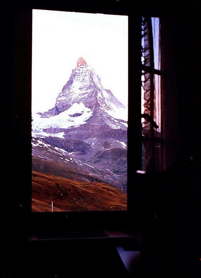 山岳ホテルの醍醐味!モルゲンロート体験!