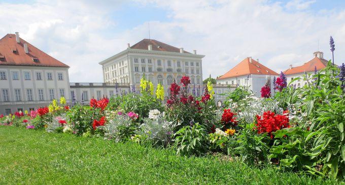 白亜の美しい城「ニンフェンブルグ宮殿」