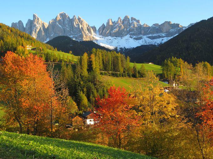 7.美しい黄葉&食を大満喫!秋の「北イタリア」