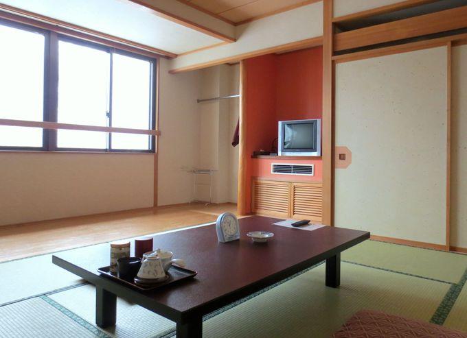 広くてキレイで清潔な客室と、親切な対応も魅力!