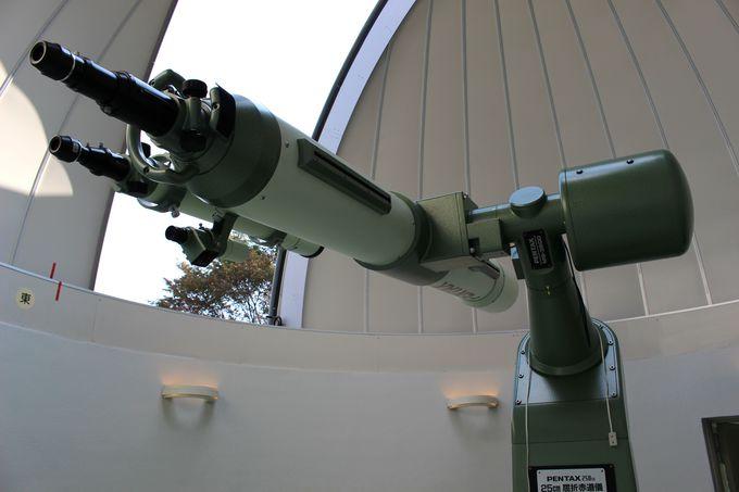 世界で唯一の天体望遠鏡・PENTAX250屈折赤道儀!ふたご座流星群特別観望会も!