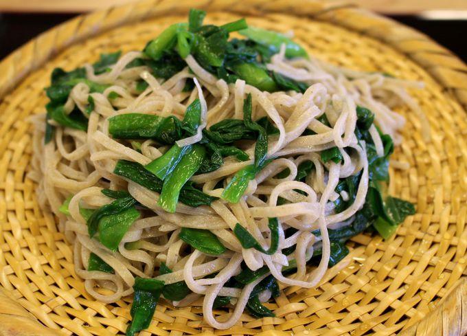 山里・粟野の自然が生み出す「大越路」の美味しい蕎麦!