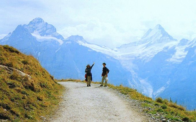 美味しい空気と山々に抱かれて「ハイジ」になる!