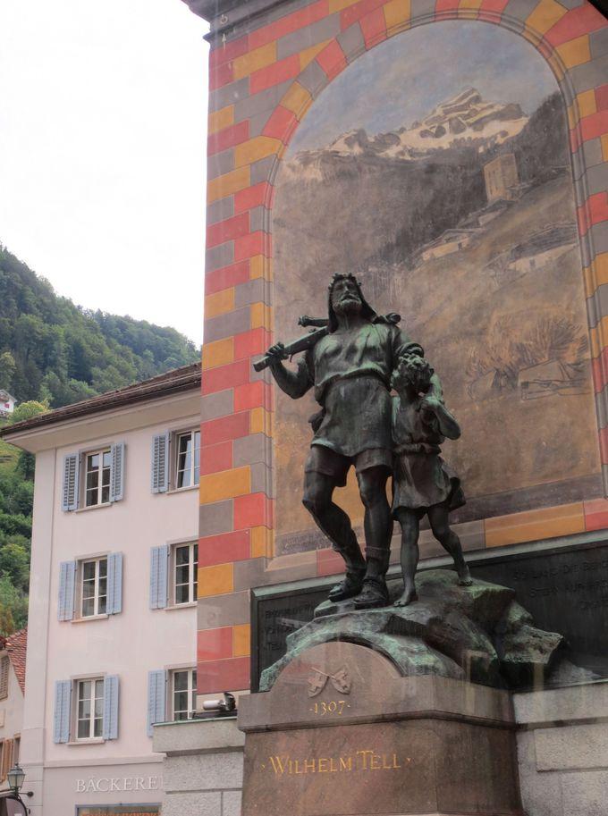 スイス建国の地とウイリアムテル伝説