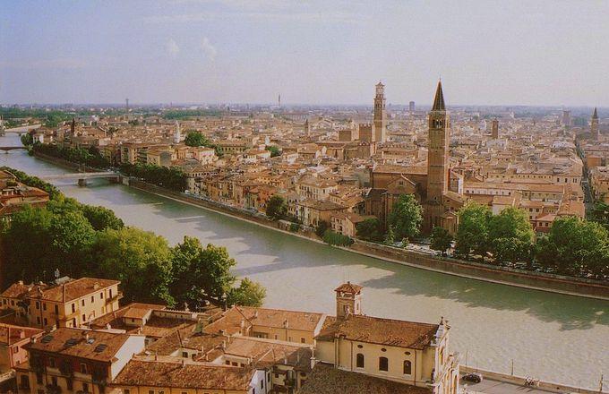 ヴェローナで一番の絶景はここから!