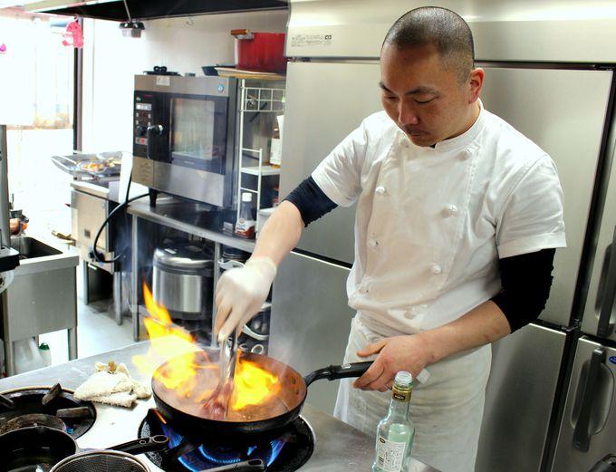 料理とお客さんの笑顔が大好き!料理人・渋谷常信さんの思い