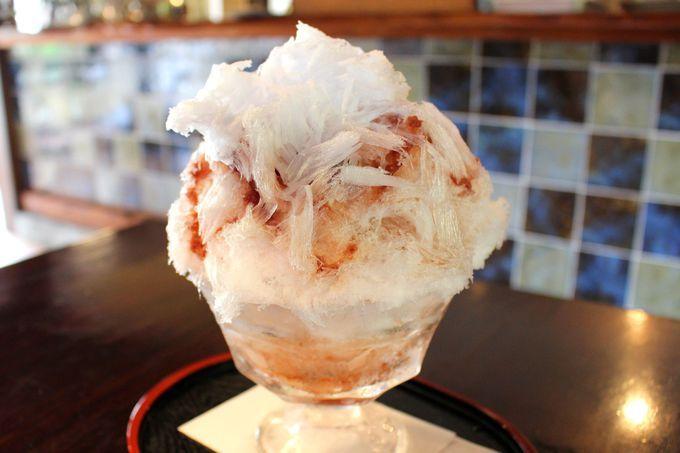 古民家カフェで味わう逸品かき氷「日光珈琲御用邸通」(四代目徳次郎)
