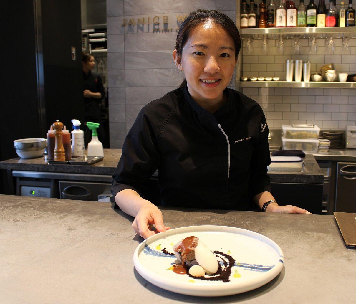 新宿「ジャニス・ウォン」!アジアが誇る若き世界のシェフ・ジャニスのアーティスティックなデザート