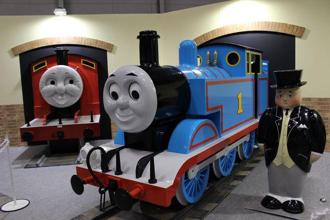 ZONE4「鉄道ワンダーランド」!小さな子供もワクワクの参加型コーナーも!