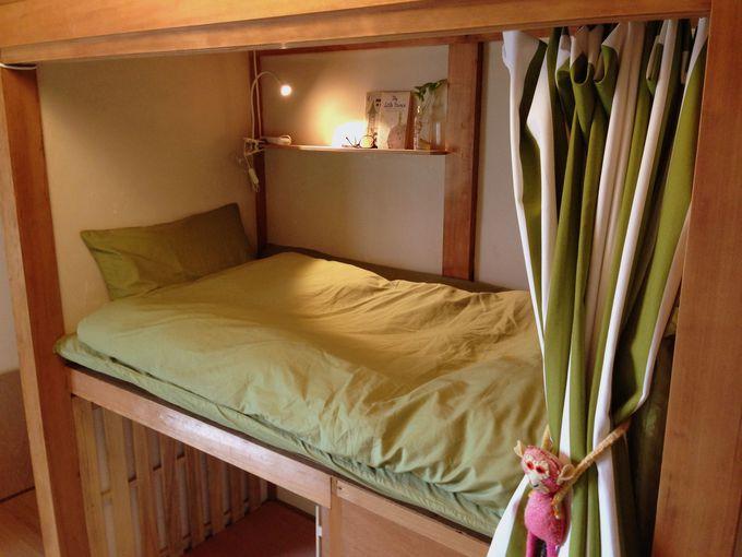 和室には限定1名のヒミツの「ドラえもんベッド」が!