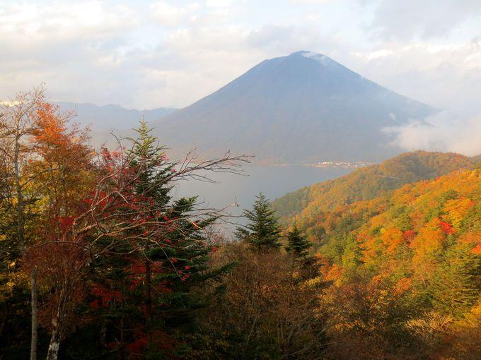青き中禅寺湖を彩る色鮮やかな紅葉は言葉を失う美しさ(栃木)