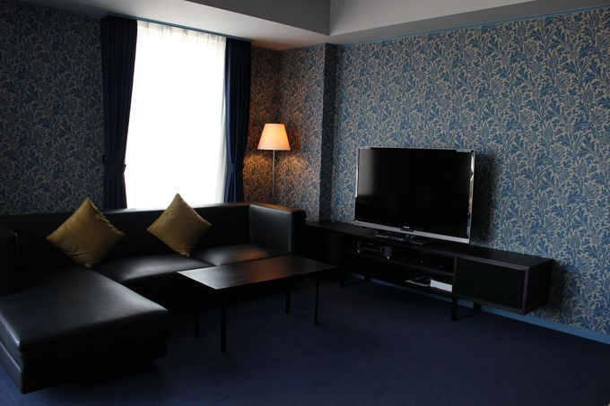 デザイン界の巨匠たちが演出する客室の美しさと快適さ。