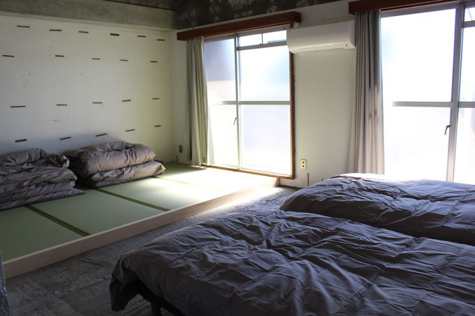 全て個室の客室が嬉しい!バリアフリー客室も完備。