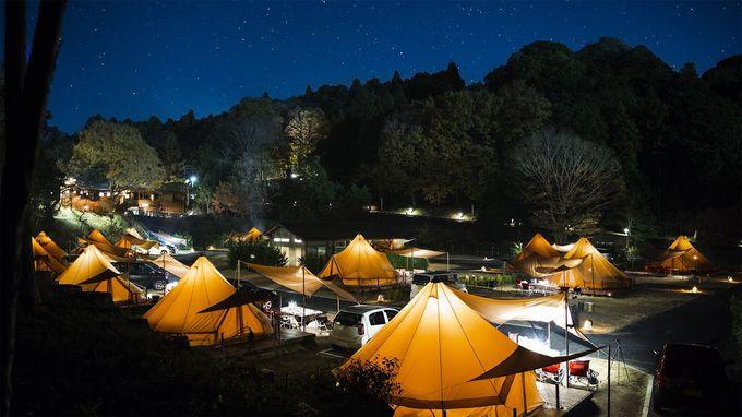 ツインリンクもてぎ「森と星空のキャンプヴィレッジ」グランピングの魅力